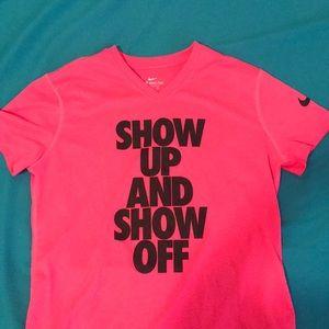 Girl's dri-fit nike t-shirt